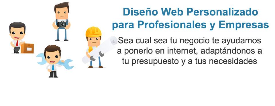 Diseño Web Personalizado para Profesionales y Empresas